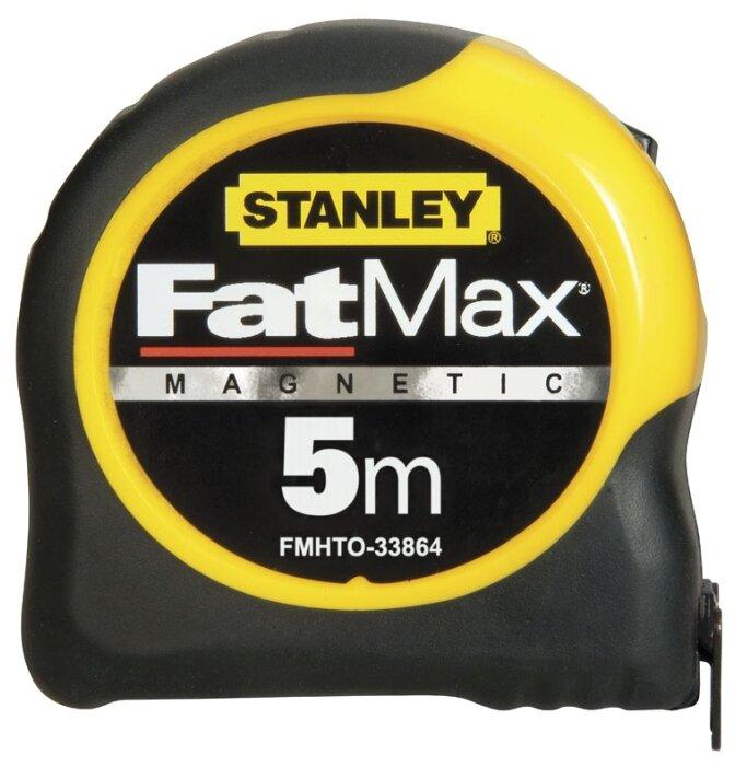 "Рулетка STANLEY HAND TOOLS STANLEY ""FATMAX BL.ARMOR"" магн.5MX32MM FMHT0-33864"