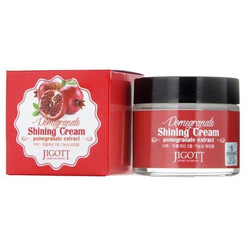 Jigott Pomegranate Shining Cream Крем для лица с экстрактом граната Shining Cream Pomegranate Extract, 70 мл