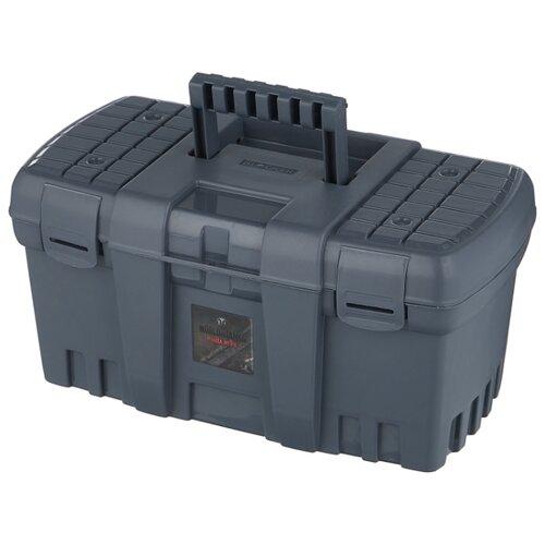 Ящик BLOCKER World of Tanks BR5011 38x21x19.5 см 15'' серо-свинцовый ящик для инструментов blocker world of tanks br5016срсвцор 51 х 26 х 22 см