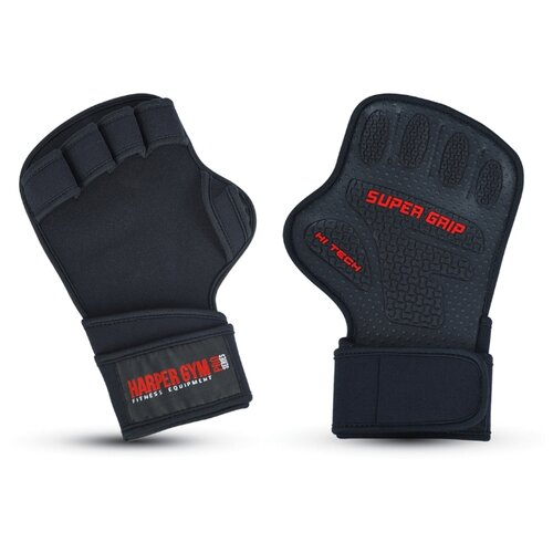 Перчатки Larsen Happer Gym 16-8550 черный XL