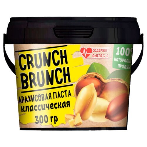 Crunch Brunch Арахисовая паста Классическая 300 г фото