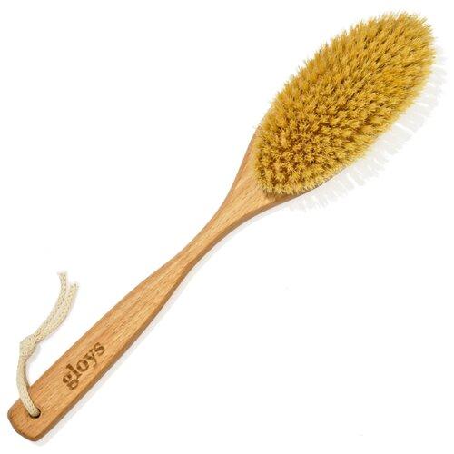 Щетка Gloys для сухого массажа Soft (963-513) для чувствительной кожи бук
