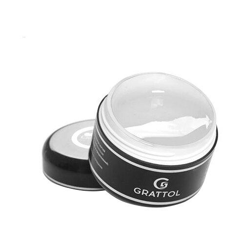 Гель-желе Grattol Jelly Clear моделирующий трехфазный, 15 мл прозрачный гель желе irisk professional jelly clear premium pack однофазный для моделирования 5мл прозрачный