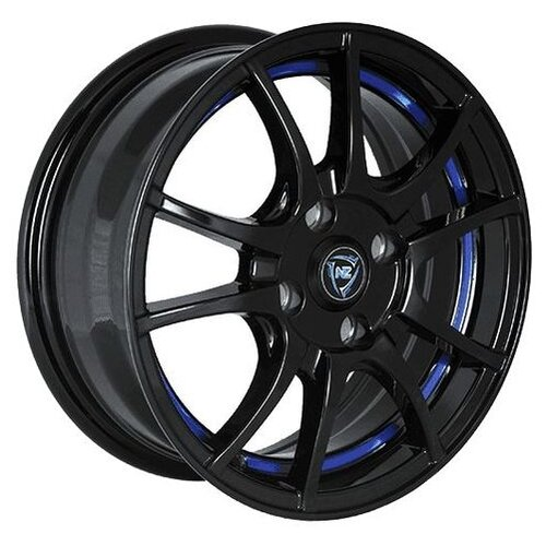 Фото - Колесный диск NZ Wheels F-43 6x14/4x100 D56.6 ET49 BKBSI колесный диск nz wheels f 42 6x15 4x100 d60 1 et40 bkbsi