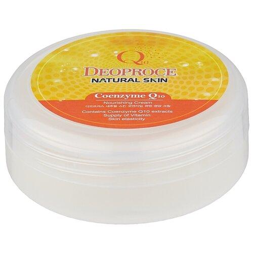Крем для тела Deoproce Natural Skin Coenzyme Q10 Nourishing Cream, банка, 100 г