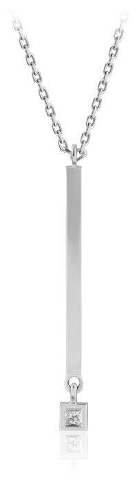 Бронницкий Ювелир Колье из белого золота 64519017