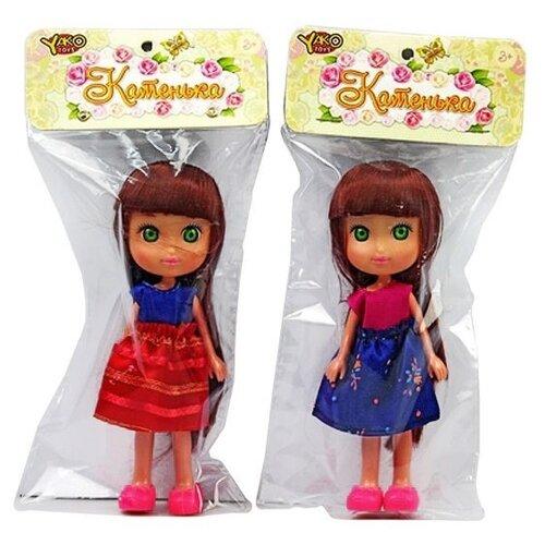 Кукла Yako Катенька, 16,5 см M6622