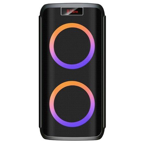 цена на Портативная акустика Ginzzu GM-202 черный