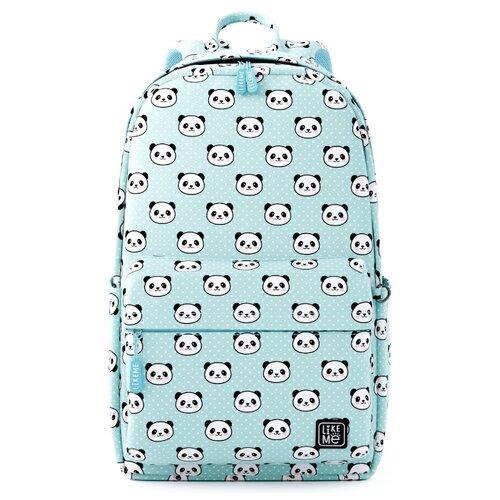 Купить Like Me рюкзак Teens Панды, аква, Рюкзаки, ранцы