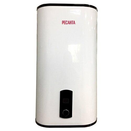 Накопительный электрический водонагреватель РЕСАНТА ВН-50В, белый