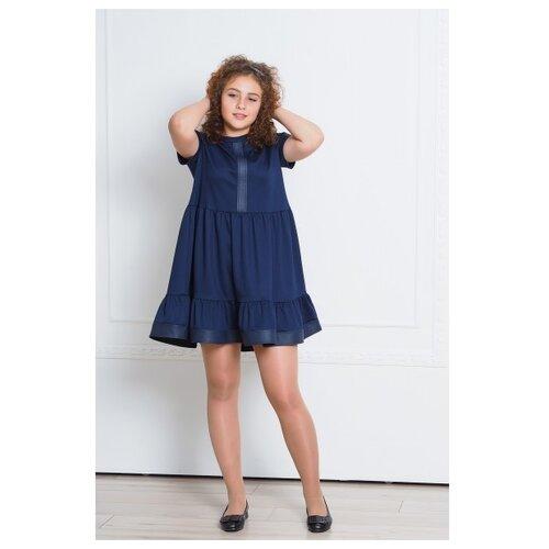 Купить Платье Ladetto размер 36-146, темно-синий, Платья и сарафаны
