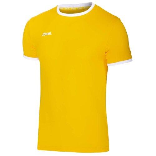 Футболка Jögel JFT-1010 размер YL, желтый/белый