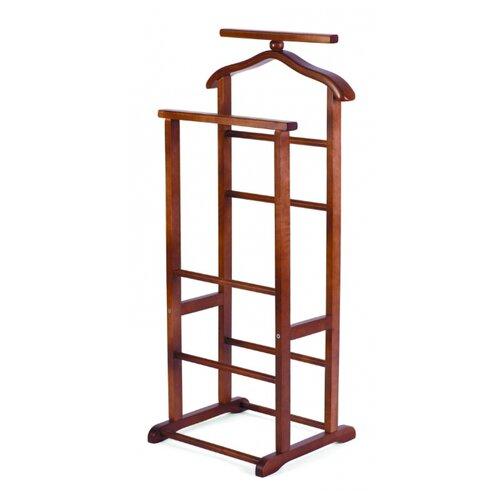Напольная вешалка Мебелик В 9Н темно-коричневый