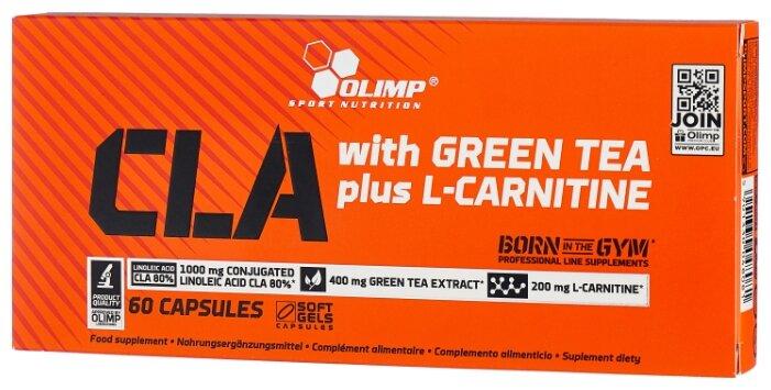 Olimp CLA with Green Tea plus L-Cartinine (60 шт.)