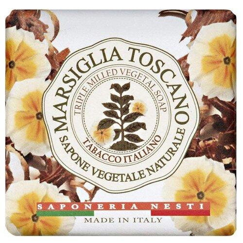 Мыло кусковое Nesti Dante Marsiglia Toscano Tabacco Italiano, 200 г nesti dante мыло vero marsiglia мед 150 г