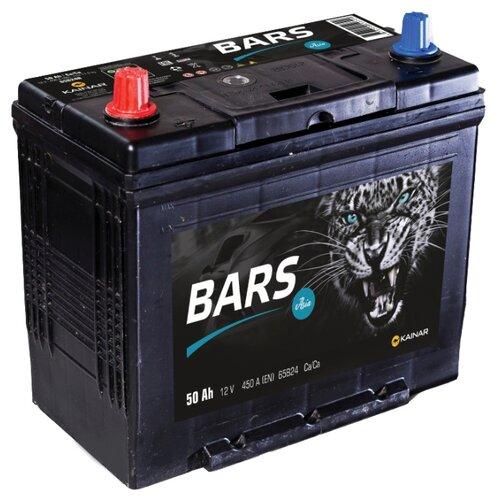 цена на Автомобильный аккумулятор BARS Asia 6СТ-50 VL АПЗ п.п. 65B24R