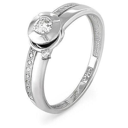 KABAROVSKY Кольцо с 18 бриллиантами из белого золота 11-1443-1000, размер 18 kabarovsky кольцо 11 21151 2302 размер 18