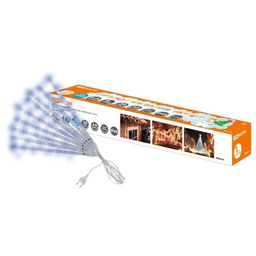 цена на Гирлянда TDM ЕLECTRIC Сосульки Падающий свет 380 см, SQ0361-0027, 40 ламп, голубые диоды/прозрачный провод