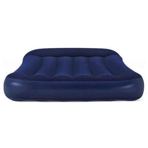 Надувной матрас Bestway Tritech Airbed 67680 синий надувная кровать bestway tritech airbed queen built in ac pump 67403 темно синий