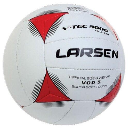 цена на Волейбольный мяч Larsen V-tec3000 бело-красный