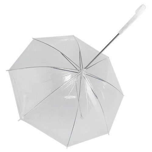 Зонт для собак Пижон Дружок прозрачный
