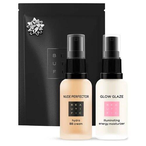 BEAUTIFIC Набор для макияжа Glow Makeup Kit №1