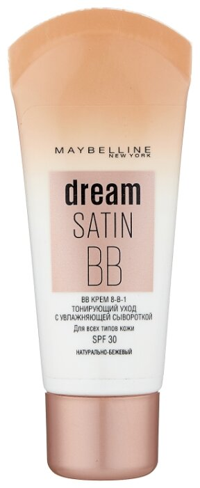 Maybelline BB крем Dream Satin SPF 30, 30 мл