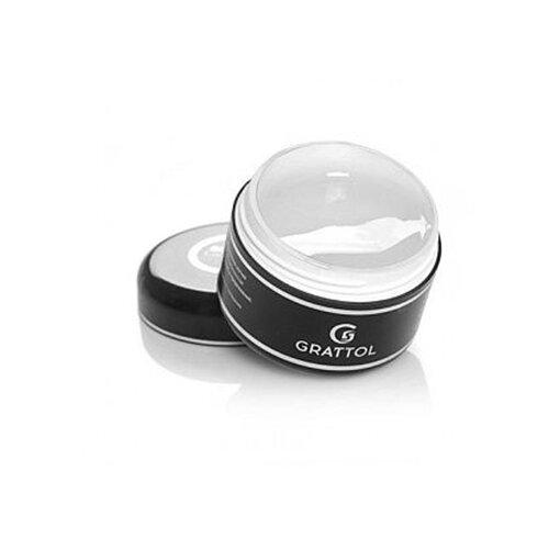 Гель Grattol Clear Gel моделирующий однофазный, 50 мл бесцветный