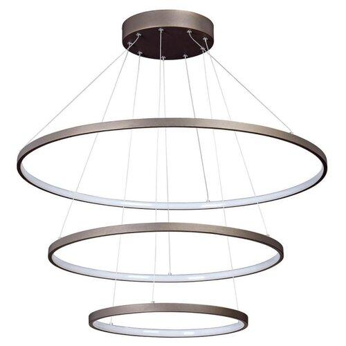 Люстра светодиодная Vitaluce V4600-9/3S, LED, 135 Вт подвесная светодиодная люстра vitaluce v4600 9 3s