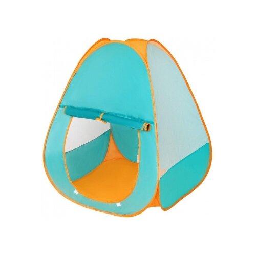 Палатка Наша игрушка Конус HF022-A голубой/оранжевый игрушка
