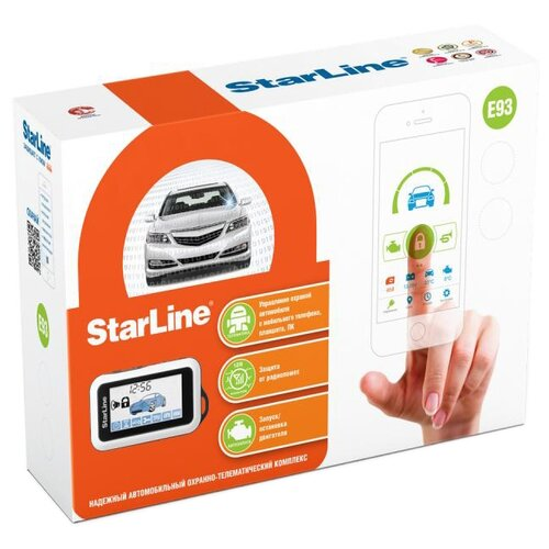 Автосигнализация StarLine E93 2CAN+2LIN автосигнализация starline a93 2can 2lin