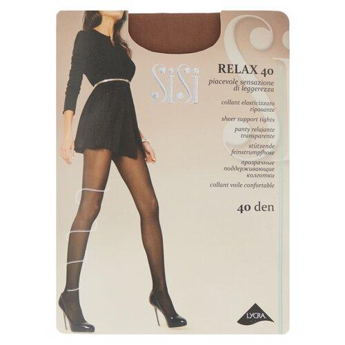 Колготки Sisi Relax 40 den, размер 5-MAXI XL, daino (коричневый) колготки sisi activity 70 den размер 5 maxi xl daino коричневый
