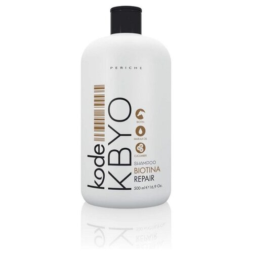Купить Periche Profesional шампунь Kode Kbyo Biotina Repair восстанавливающий с биотином 500 мл