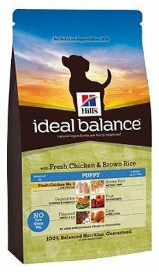 Корм для щенков Hill's Ideal Balance для здоровья кожи и шерсти, курица с коричневым рисом 2 кг