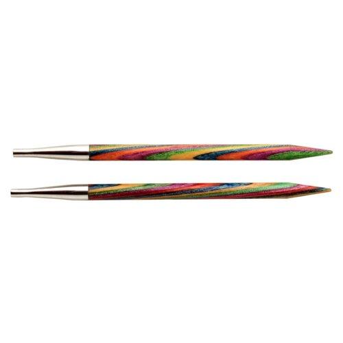 Спицы Knit Pro съемные Symfonie 20422, диаметр 3.5 мм, длина 10 см, многоцветный  - купить со скидкой