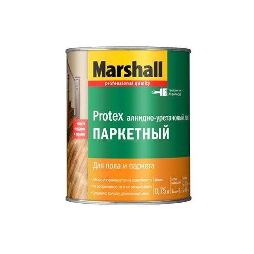 Фото - Лак Marshall Protex Parke Cila 90 алкидно-уретановый бесцветный 0.75 л лак marshall protex parke cila 40 алкидно уретановый бесцветный 2 5 л