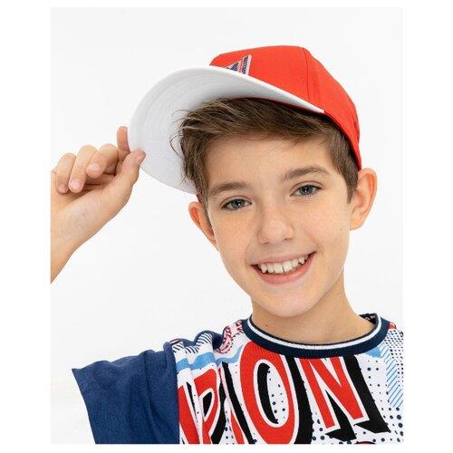 Купить Бейсболка Gulliver размер 54-56, красный, Головные уборы