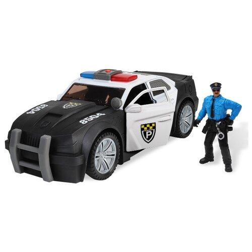 Купить Легковой автомобиль Chap Mei Rescue Force (546066) 35 см черный/белый, Машинки и техника