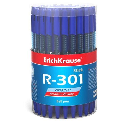 Купить ErichKrause Набор шариковых ручек R-301 Original Stick, 0.7 мм, 60 шт (46772/46773), синий цвет чернил, Ручки