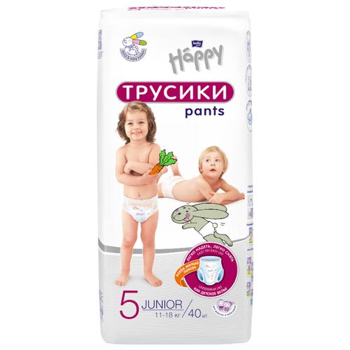 Bella Baby happy трусики 5 (11-18 кг) 40 шт.