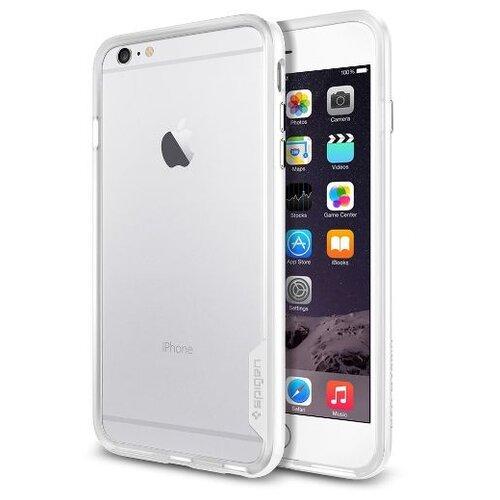 Фото - Чехол-накладка Spigen Neo Hybrid EX для Apple iPhone 6 Plus/iPhone 6S Plus (SGP-110) Infinity White чехол spigen thin fit white apple watch 4 44mm