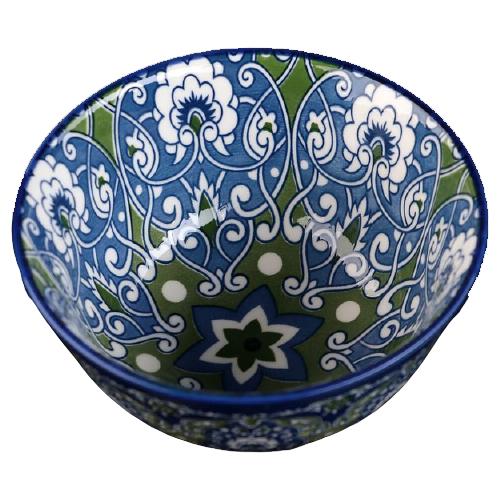 Фото - Доляна Салатник Джавлон 12 см синий/зеленый доляна салатник джавлон 12 см синий зеленый