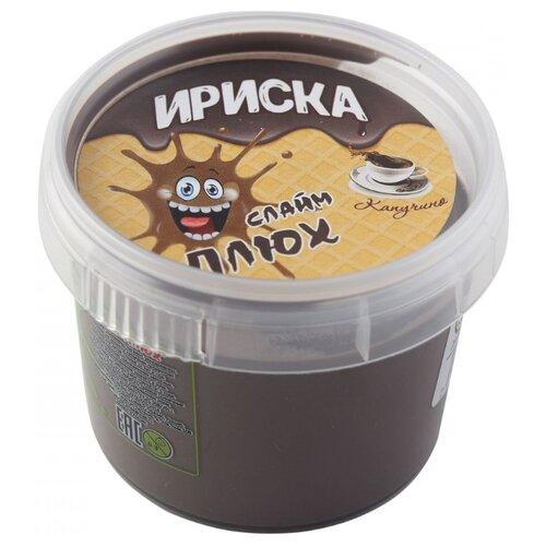 Лизун Плюх Ириска Капучино коричневый