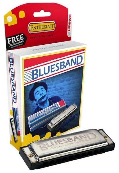 Губная гармошка Hohner Blues Band (M55910X) A