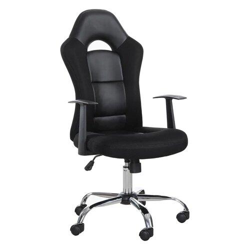 Компьютерное кресло Brabix Fusion EX-560 игровое, обивка: текстиль/искусственная кожа, цвет: черный компьютерное кресло brabix nitro gm 001 игровое обивка искусственная кожа цвет черный