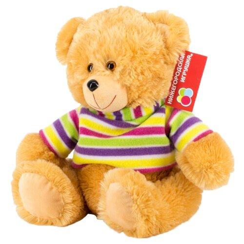 Мягкая игрушка Нижегородская игрушка Медведь в футболке 37 см игрушка