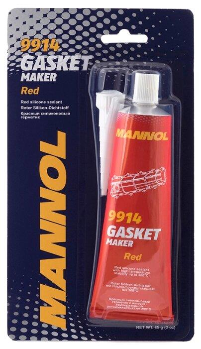 Универсальный силиконовый герметик для ремонта автомобиля Mannol Gasket Maker 9914, 0.085 кг