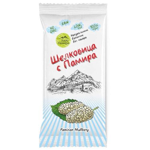 Фруктовый батончик Дары Памира Шелковица с Памира без сахара, 20 г