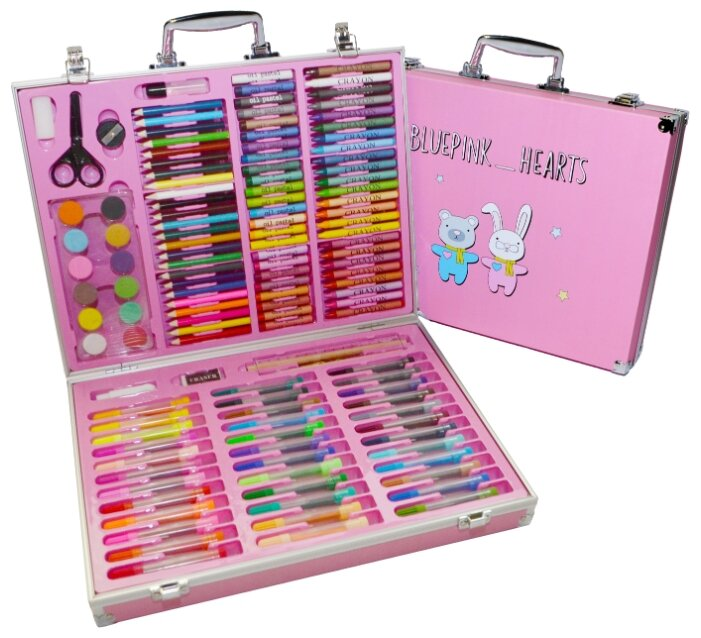 Blue Pink Hearts Набор для рисования Юный художник большой, розовый (098766)