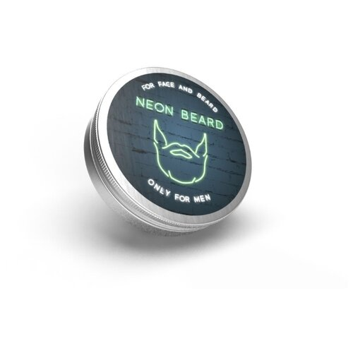 NEON BEARD Oil plasticine (масло пластилин для лица, бороды и волос) Green Neon, 15 мл neon green